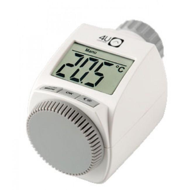 ahorro energético - cabezales termostáticos